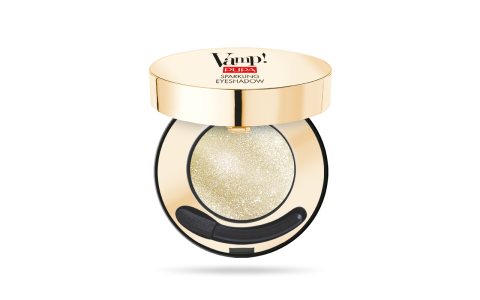 Party On Vamp Sparkling Eyeshadow Shimmering Gold 001
