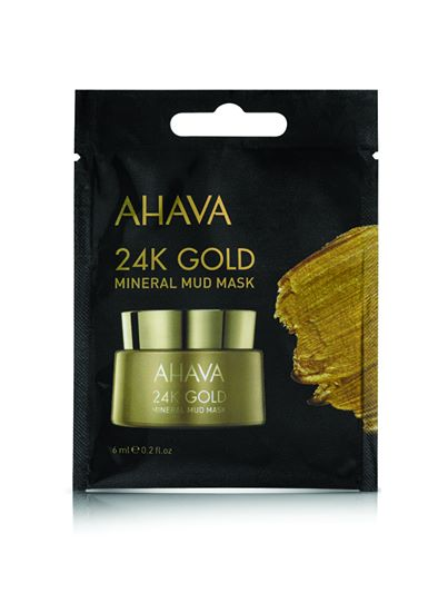 AHAVA 24K Gold Mineral Mud Mask - Single Use