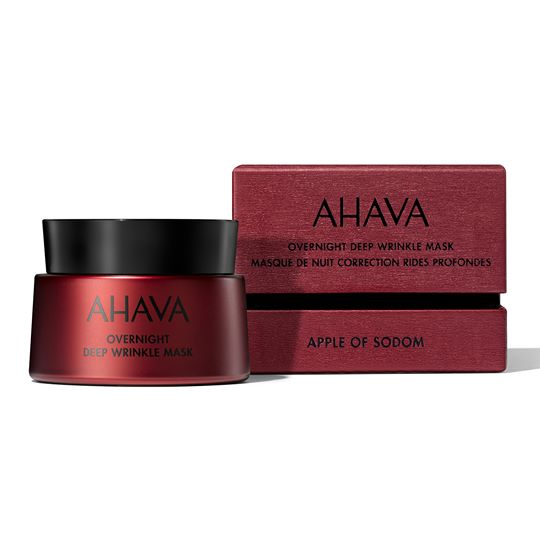 AHAVA Apple Of Sodom: Overnight Deep Wrinkle Mask