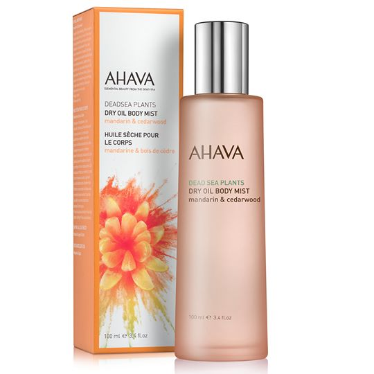 AHAVA Color Collection Dry Oil Body Mist - Mandarin & Cedarwood
