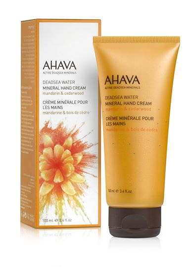 AHAVA Color Collection Mineral Hand Cream - Mandarin & Cedarwood