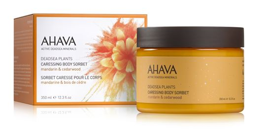 AHAVA Color collection Caressing Body Sorbet - Mandarin & Cedarwood