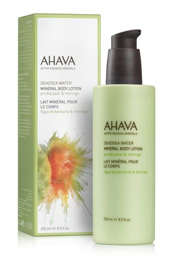 AHAVA Color collection Mineral Body Lotion - Prickly Pear & Moringa