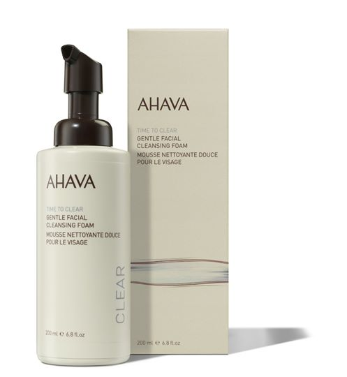 AHAVA Time to clear Gentle Facial Cleansing Foam