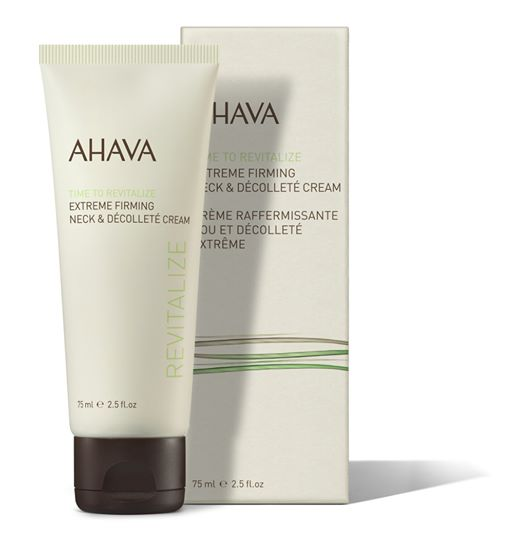 AHAVA Time to revitalize Extreme Firming Neck & Decolleté Cream
