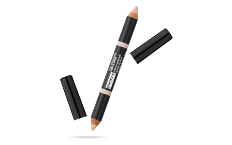 Duo Highlighter Eyebrow Matt & Shine 01 Beige
