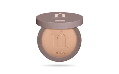 Natural Side Bronzing Powder Bronzing Compact Powder 002 Natural Bronze.