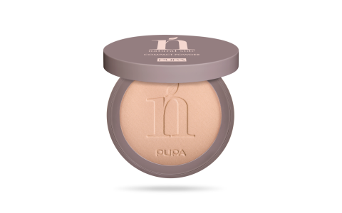 Natural Side Mattifying Compact Powder 002 Natural Beige.