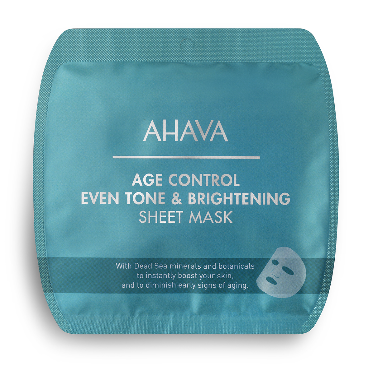 AHAVA Age control - Even Tone & Brightening Sheet Mask - Single use