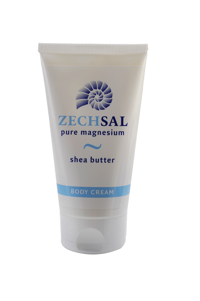 Zechsal magnesium body cream 150 ml geeft de huid rust