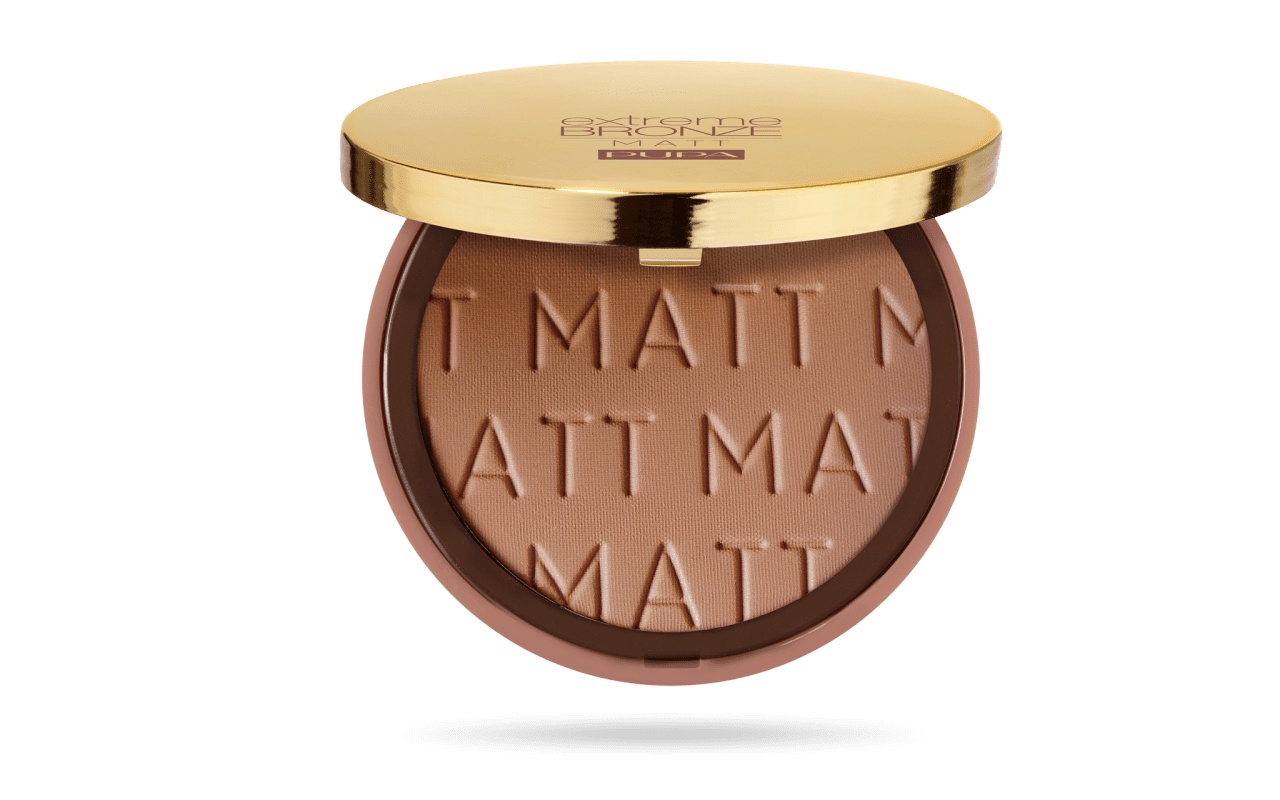 Extreme Bronze Bronzing Powder Natural Matt Finish Amber Medium Skin 002